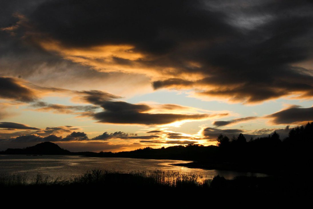 Craignish Sunset By Amy Hooton