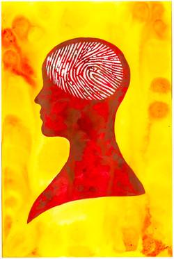 Finger print brain