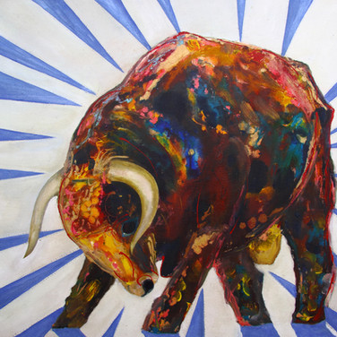bling BULL by Amy Hooton
