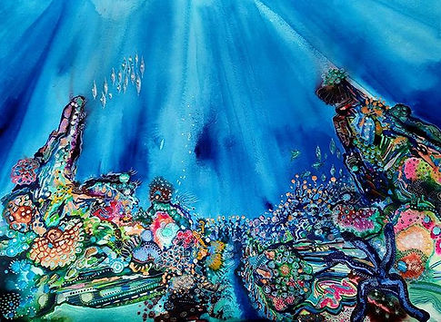 I finished this Coral reef yesterday.  6