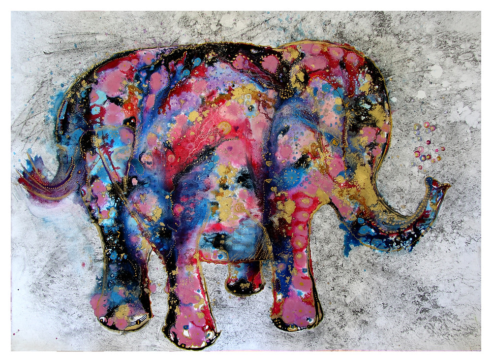 Nellie the e lephant by Amy Hooton