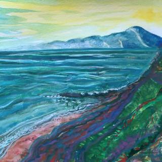 Coastal Seascape by Amy Hooton