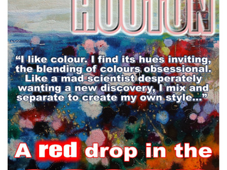 Solo Show - A Red Drop in the Ocean