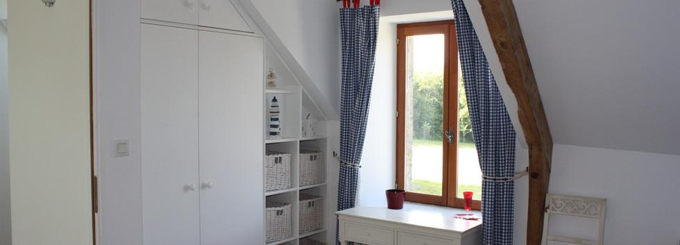 Blue Bedroom suite storage