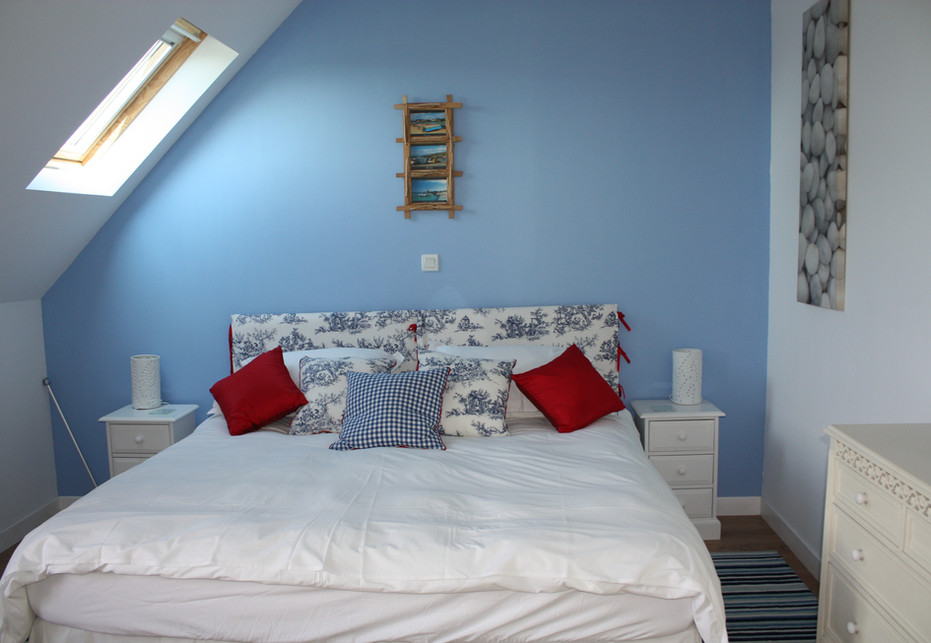 Grand Camus Blue Bedroom suite