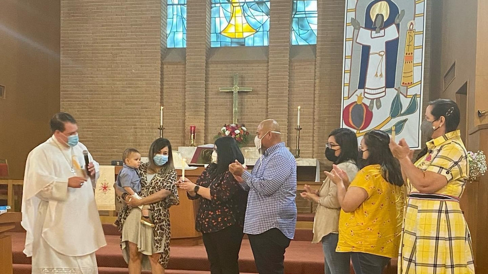 First baptism of 2021!