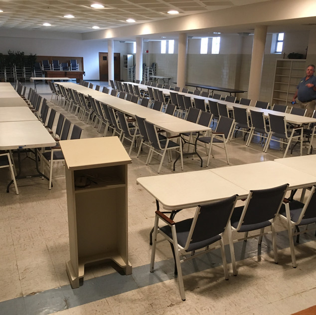 Readied tables