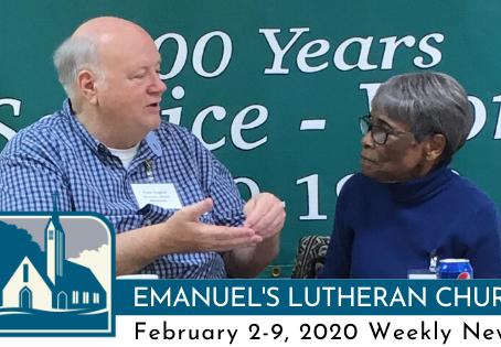 February 2-9, 2020 Weekly News