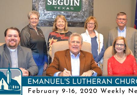 February 9-16 Weekly News