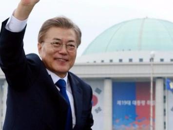 文在寅当选韩国新一任总统