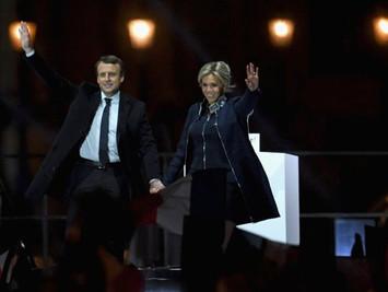马克龙大幅领先当选法国总统