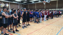 曲星大使参加全比华人篮球赛