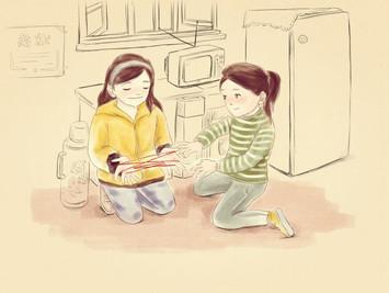 翻花绳2.0版:中国民间流传的儿童游戏风靡欧洲校园,比国已售出55万份