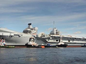 英国扬言要派往南海的航母意欲何为
