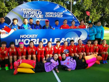 ACPB会员为女子曲棍球世界联赛布鲁塞尔站当志愿者