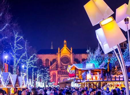 """布村最大圣诞市场""""Plaisir d'hiver""""亮灯啦!今年的主题是北极光"""