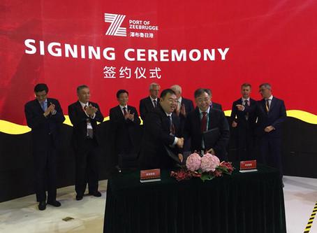 比利时企业在中国签了个158亿元惊天大单