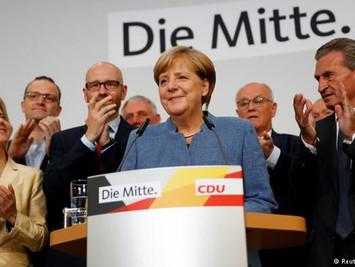 默克尔连任德国总理继续执政! 将和谁一起?