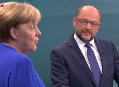 德国大选辩论:一致反特朗普 默克尔封土耳其入欧