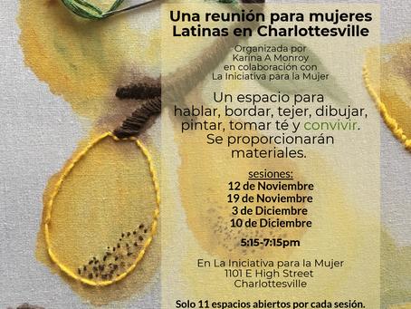 Grupo para mujeres Latinas en Charlottesville