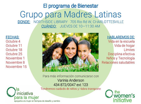 Grupo para Madres Latinas: Group for Latina Mothers