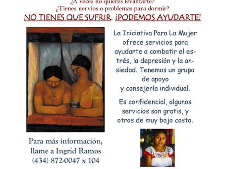 Servicos de Salud Mental para las Mujeres Latinas