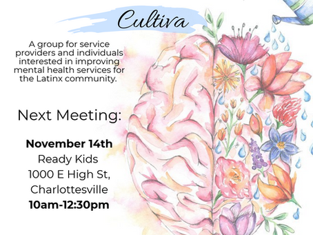 Cultiva: Mental Health Work Group Meeting