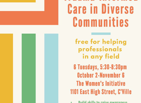 Leadership Training for Trauma-Informed Care in Diverse Communities @ The Women's Initiative
