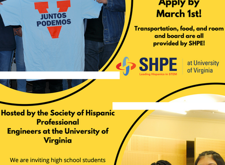 Juntos Podemos by UVA Society of Hispanic Professional Engineers at the University of Virginia