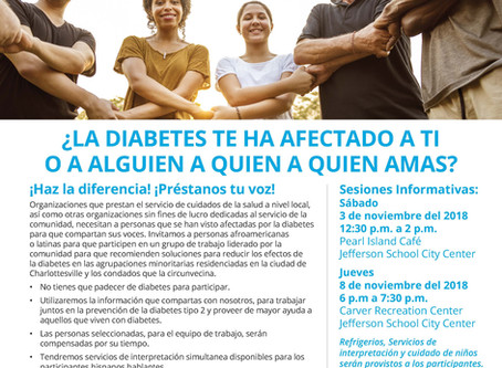Diabetes Information Session: Nov 3rd