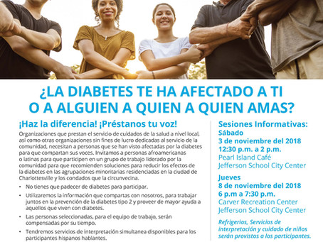Diabetes Information Session: Nov 3rd
