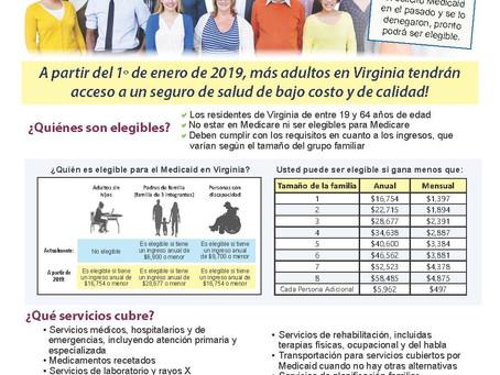 Medicaid and ACA Information!