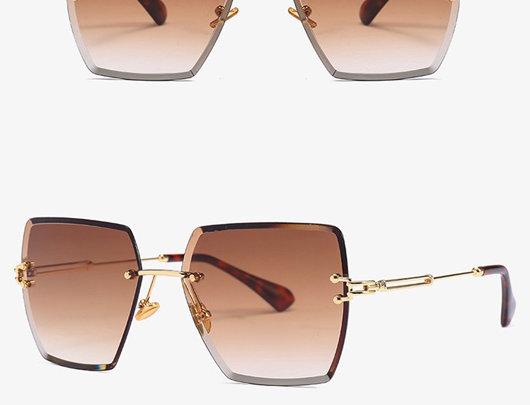 Óculos de sol Colorblock
