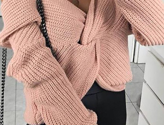 Suéter tricotado