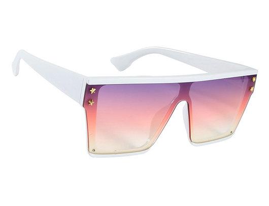 Óculos de sol moldura quadrada