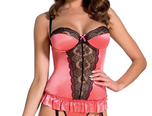 Rosalie corset pink
