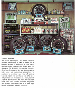 Vickers Refining Products