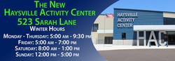 Haysville Activity Center Winter 2017