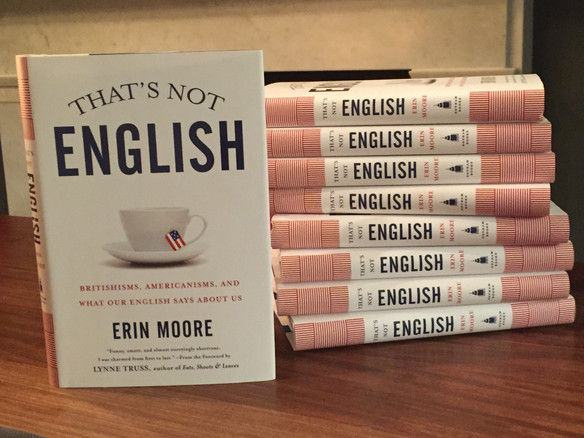 THAT'S NOT ENGLISH-on sale Tuesday!