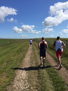 A Runner's High in the Sussex Downs