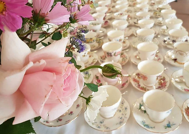 Vintage China Hire & Afternoon Tea Catering