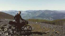 On top of Skiddaw, Lake District