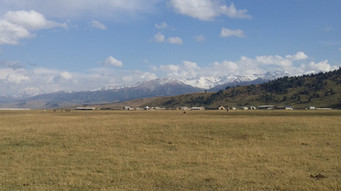 Entering Kyrgyzstan