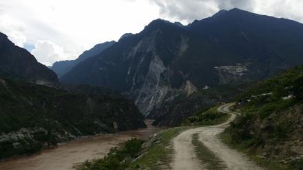 Safely across the Yangtze, Yunnan