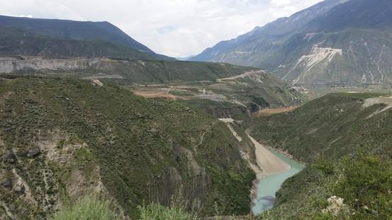 The Yangtze River near Daju
