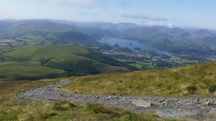 Climbing Skiddaw, Lake District