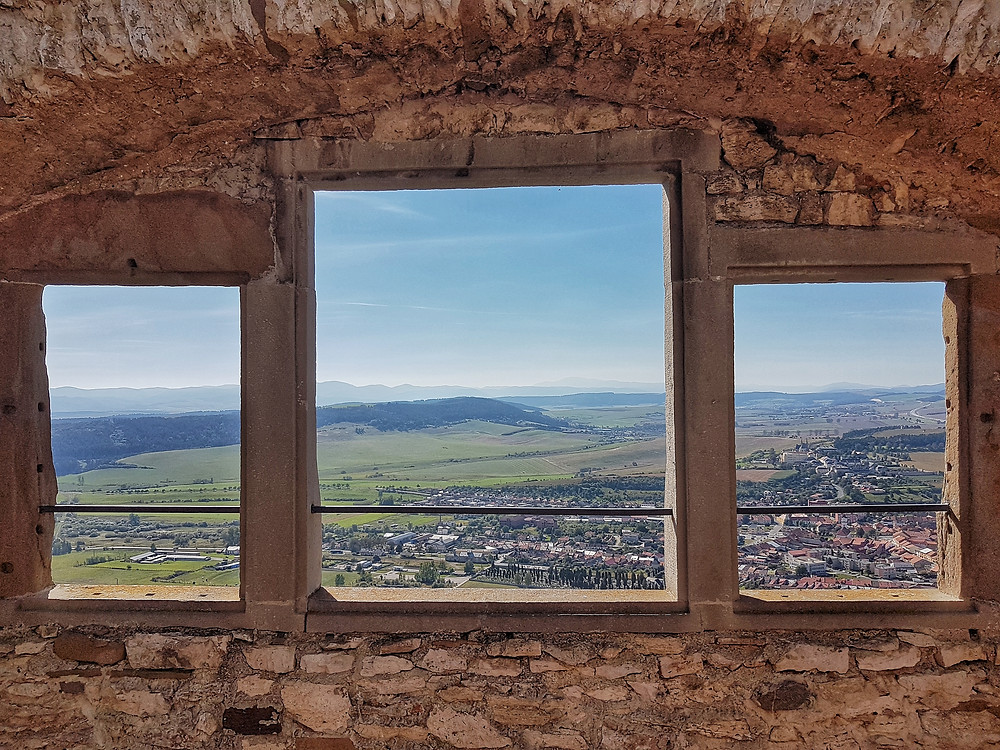 The view from Spiš Castle