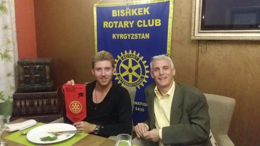Bishkek Rotary Club, Kyrgyzstan