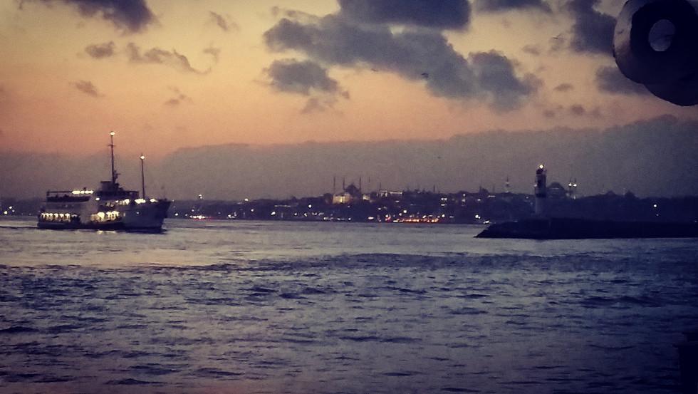 The Bosporus, Istanbul, Turkey