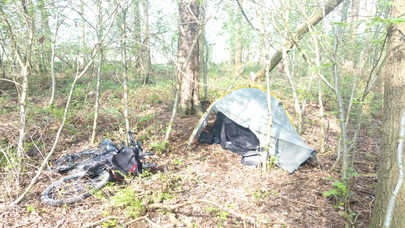 Wild camping in Germany
